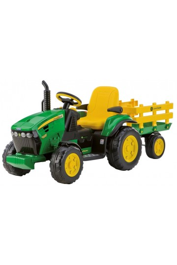 TRACTEUR JOHN DEERE GROUND FORCE + REMORQUE