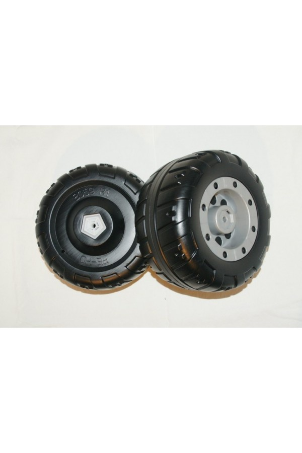 2 ROUES ARRIERES CORRAL TREX 12V