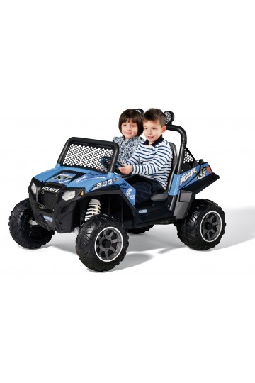 POLARIS RZR 900 12 VOLTS BLEU