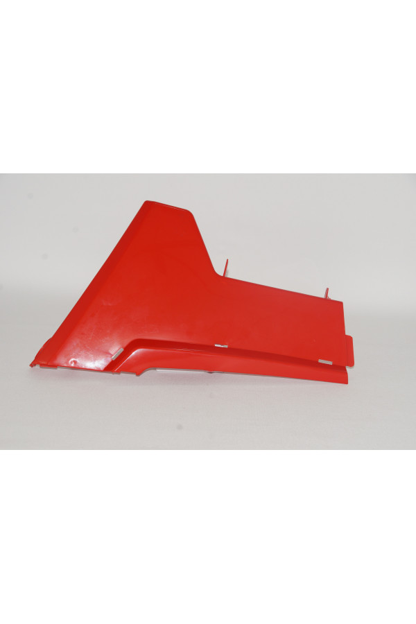 PIECE LATERALE GAUCHE ROUGE CHASSIS RZR